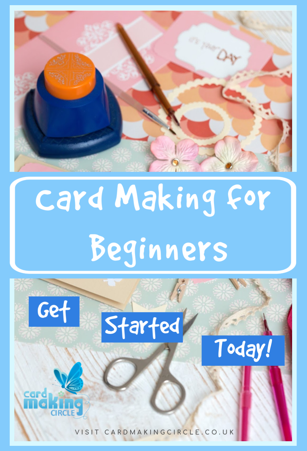 Interested in card making but not sure how to start?  Join me and find out more with Card Making for Beginners.