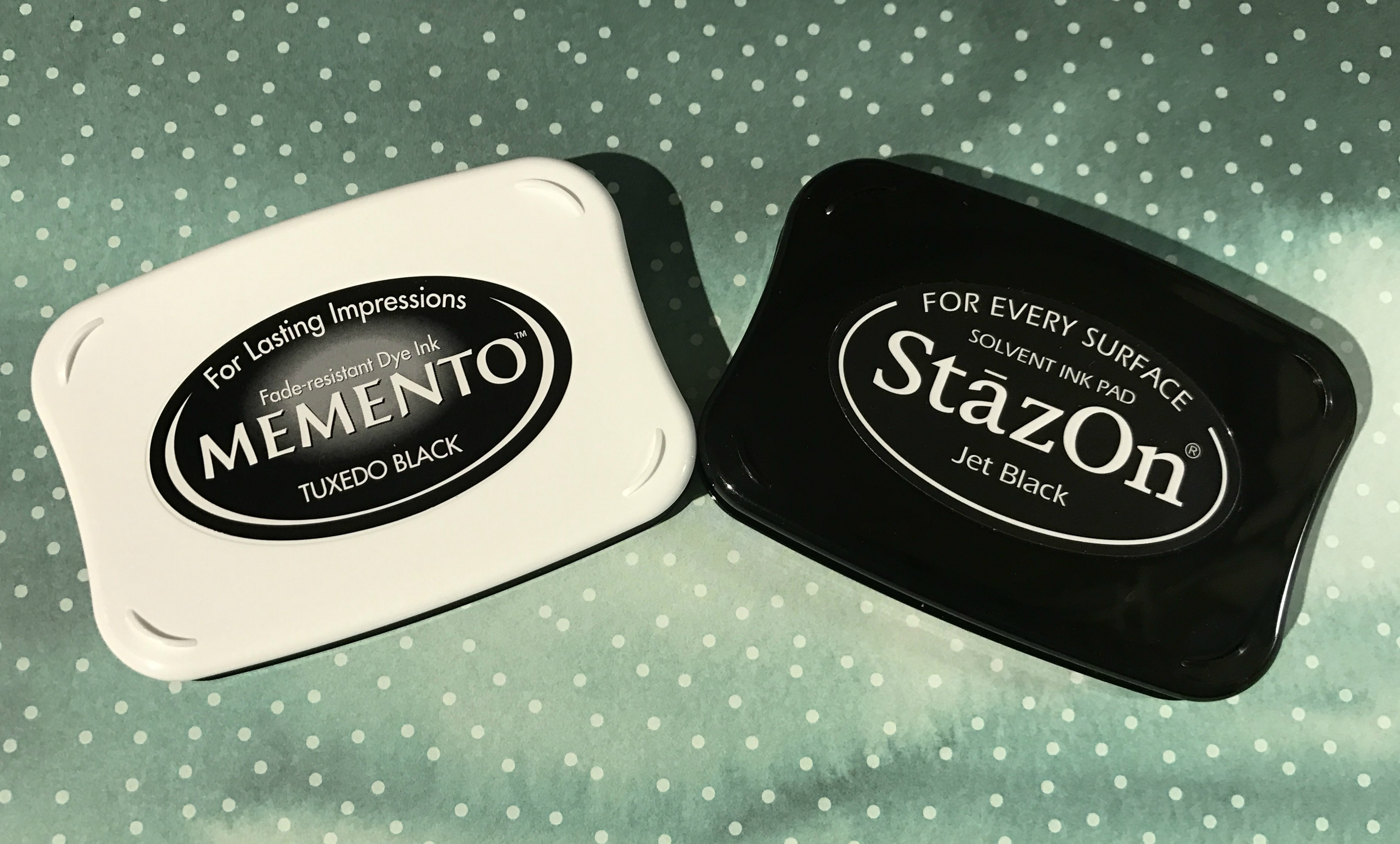 Memento and Staz On ink pads