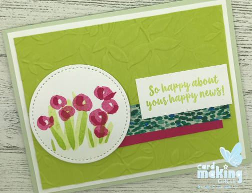 abstract Impressions Stampin Up!