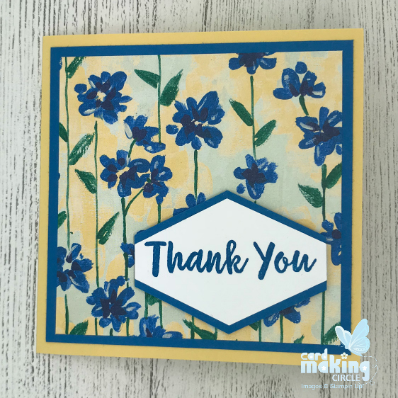 Garden Impressions suite from Stampin Up!