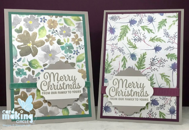 Simple Christmas Cards Quick and easy Christmas cards