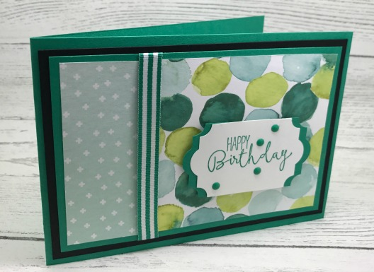 layers on a greeting card