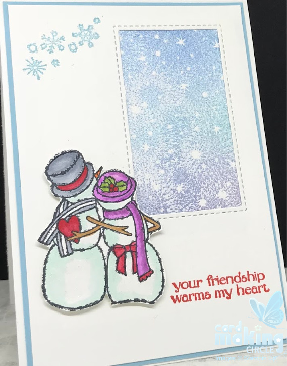 Snowman Cards Stampin Up! Christmas Cards